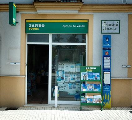 agencia de viajes zafiro Sanlúcar de Barrameda