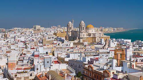 Cadiz Stadt, Innenstadt mit Kathedrale