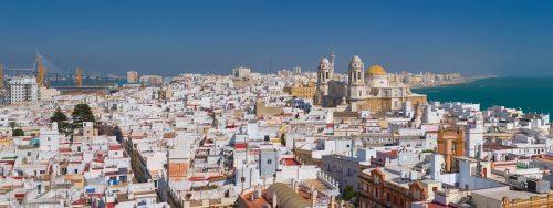 Comercios Ciudad de Cádiz - vista a la ciudad