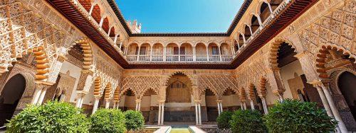 Andalucía, Real Alcázar de Sevilla - Andalusia, Moorish Palace Seville - Andalusien, Alcazar von Sevilla