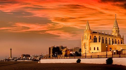 Chipiona, Santuario, Wallfahrtskirche