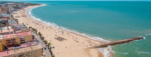 Hotels Hostels Chipiona, Hoteles Playa de Regla