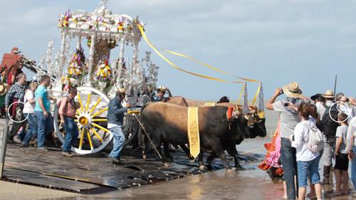 Romeria del Rocio 2018, religiöse Feste in Andalusien